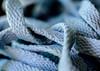 ..I call it..blue lace;) (dawn.tranter) Tags: dawntranter bluelace blue lace shoes shoelace joggers closeup