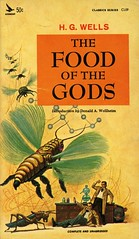 Airmont Books CL59 - H.G. Wells - The Food of the Gods (swallace99) Tags: airmont vintage 60s sciencefiction sf scifi paperback