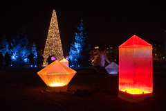 Frozen desert (Maria Eklind) Tags: lights bokeh helsingborg drömljus antarktis frozendesert luxera furutorpsplatsen city park lighthouse furutorp ljus sweden skånelän sverige se