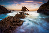 When It All Comes Together (Augmented Reality Images (Getty Contributor)) Tags: portknockie bowfiddlerock coastline sunrise water scotland landscape nisifilters waves clouds morayfirth canon longexposure seascape rocks unitedkingdom gb