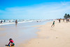 Praia de Mosqueiro (Leonardo.Motta) Tags: brasil nordeste sergipe aracaju brazil northwest sea sky ocean people beach sand water shoreline