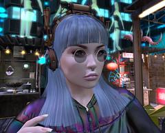 BladeRunners pt1-39-Kaia (grady.echegaray) Tags: bladerunner bladerunner2049 scifi sciencefiction replicants secondlife slfashion slstyle secondlifefashion sexydress robots avatars avatarfashion avatarstyle