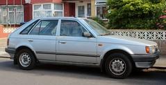 E874 NMD (Nivek.Old.Gold) Tags: 1987 mazda 323 lx 5door 1323cc