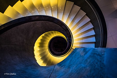 Radisson Blu (Tim-Dallos) Tags: arch stairs hotel lighting light shadow colour perspective nikon d750 spiral hamburg radisson blu
