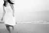 sea life (photoksenia) Tags: street sea summer running blackandwhite bw beach blacksea girl woman water