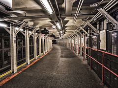 Platform--Times Sq (PAJ880) Tags: s train platform times square station manhattan nyc new york mta original relic