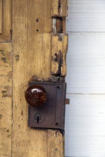 Acadian door lock