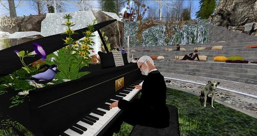 On Kourosh Eusebio Saturdays  piano concert with my Anmar