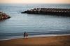 Romantic Beach - Calheta, Madeira (Sebastian Bayer) Tags: paar olympus sand boot meer romantisch himmel atlantik menschen madeira wellen portugal wellenbrecher schiff warm ruhe strand omdem5ii ausblick aussicht omd felsen verliebt wasser urlaub sonnenuntergang