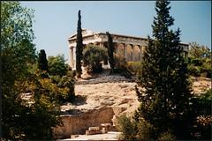 Αθήνα, Ναός Ηφαίστου. (Giannis Giannakitsas) Tags: greece grece griechenland athens athenes athen αθηνα ναοσ ηφαιστου vintage