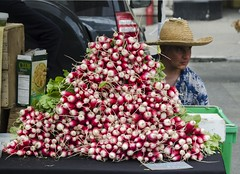Radishes - D7K_2184_ep (Eric.Parker) Tags: newyork nyc ny bigapple usa manhattan 2017 union square park farmer market radish