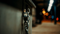 """Ball and Chain"" (36D VIEW) Tags: sony 58mm a7ii mirrorless 44m7 helios44 vintage legacy helios ilce bokeh bokehlicious beyondbokeh night lowlight a7m2 russian lens dof m42 helios44m7"