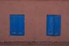 Adobe azul (Benjamín Peric) Tags: sanpedro blue adobe rustico desert minimalista minimalist locked cerrado colores bicolor simetría