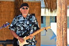 Blues-rock in Baja (thomasgorman1) Tags: portrait music gig performance street baja mexico nikon streetphotos streetshots concert blues rock guitar man
