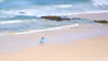 Catching a Wave (jsnowy2768) Tags: portmacquarie nsw newsouthwales lensbaby edge80 miniatureeffect beach waves surf rocks sand wet swimming surfing townbeach