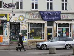 Space Invader BRL_01 (tofz4u) Tags: berlin allemagne germany deutchland streetart artderue invader spaceinvader spaceinvaders mosaïque mosaic tile brl01 street rue people chien dog hund boutique shop kapitalismus schweinesystem