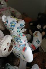 Robot Bear. (daveandlyn1) Tags: teddybear🐻 bear collection iii f3556 efs1855mm 1200d eos canon robots cathkidson