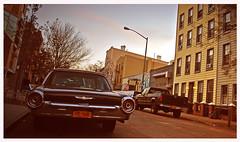 Williamsburg NYC street shot (Harry Szpilmann) Tags: williamsburg vintage car urban architecture brooklyn streetphotography nyc newyork usa