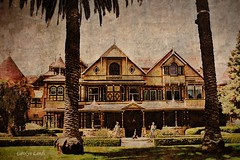 Winchester (socalgal_64) Tags: winchester carolynlandi california usa winchestermansion mysteryhouse hauntedhouse winchestermysteryhouse scary creepy old antique sanjoseca ghoststory ghost spirits history historicalsite movie filminglocation victorian victorianarchitecture unique unusual curiosity oddity house dwelling touristattraction mansion