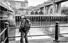 Newcastle Upon Tyne . (wayman2011) Tags: f2 fujifilmxf23mm lightroomfujifilmxpro1 wayman2011 bw mono urban street people architecture bridges rivers rivertyne tynewear tyneside newcastle uk