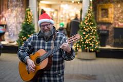 Guitarist (Hattifnattar) Tags: guitar guitarist ireland galway music street pentax fa77mm limited bokeh portrait people