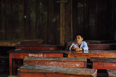 Lonely Boy in Detention, Luang Prabang Laos (AdamCohn) Tags: 103kmtobanmoutinlouangphabanglaos adamcohn banmout lao laos louangphabang luangprabang classroom detention geo:lat=19791038 geo:lon=102188803 geotagged rural school schoolhouse student timeout wwwadamcohncom