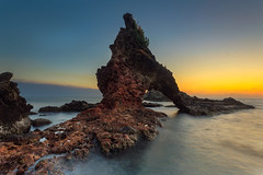 Rekindling the Passion (seednie) Tags: sunset iconicrock rockformation longexposure wideangle sidneyalonzophotography digitallightph imag lpm landscapephotography dpp dpuk natgeo relearningtoshoot
