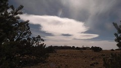 Air on Jet Stream (northern_nights) Tags: timelapse lenticular clouds sunset santafe newmexico