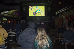 GET MORE FROM THE GAME. (LucaBertolotti) Tags: dublin dublino sport ireland irlanda night rugby beer people pub argentina rugbyclub heinekenrugbyclub