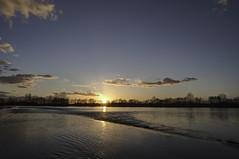 Flooded (ZeGaby) Tags: flood hdr landscapes marne naturephotography paysages pentax2470mm pentaxk1 sunset condésurmarne grandest france fr