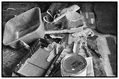 work in progress (Tony_Roman_Photography) Tags: leica m typ 240 elmar 50mm bw paint stilllife chaos anthonyproman photography