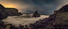 Costa de Loiba - A Coruña (breijar - MARCOS LOPEZ ALONSO) Tags: mar sedas rocas nubes noche estrellas loiba