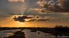 """Sunrise """"Klaasjeswater of Oude Dee"""" (BraCom (Bram)) Tags: 169 bracom bramvanbroekhoven goereeoverflakkee herkingen holland klaasjeswater nederland netherlands oudedee southholland zuidholland boom cloud landscape landschap molen morning naturearea natuurgebied ochtend reed riet silhouette silhouettes sky sun sunrays sunrise tree water widescreen windmill windmolen winter wolk zon zonnestralen zonsopkomst dirksland nl"""