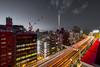Ikebukuro (B Lucava) Tags: tokyo ikebukuro night nightscape city cityscape sky skyline lighttrail expressway urban