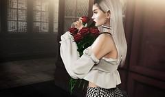 a m o r e (ShirazLaval) Tags: pseudo doux genesislab fiore roses bouquet bento alura