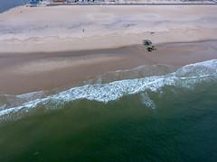 Manasquan Beach and the Atlantic Ocean captured by a DJI Phantom 4 drone. (apardavila) Tags: atlanticocean djiphantom4 jerseyshore manasquan manasquanbeach aerial beach drone