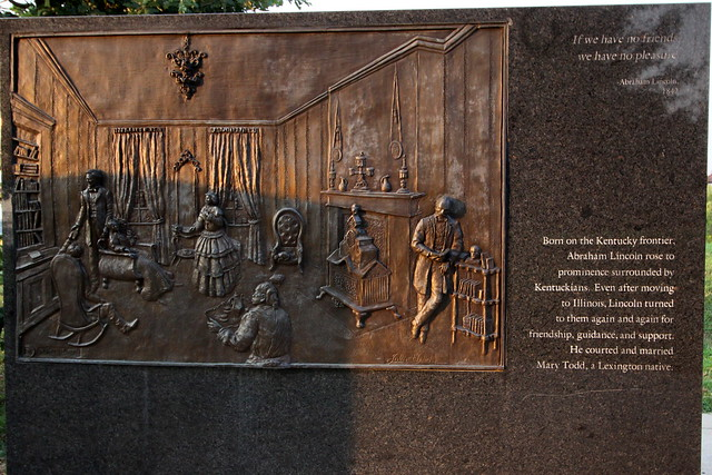 Lincoln Bas-relief scenes #2 - Louisville Waterfront Park