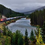 I hear the train a comin'... (Banff National Park) thumbnail