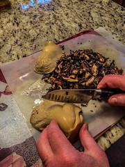 bailing_mushrooms-7_MaxHDR (old_hippy1948) Tags: bailingmushrooms mushrooms funghi cooking prep