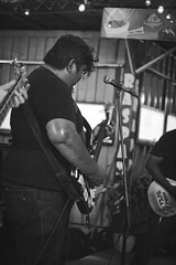 Zoma | 2017 (Jennyfer Bluered) Tags: zoma rock band alternative alternativo indie music musician photography musicos musico guitar guitarra bass black white blanco negro night stage escenario canon xs 50mm live playing singer