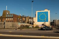 Banksy (dprezat) Tags: banksy brexit douvres dover england uk europe cee streetart street art graf tag pochoir stencil peinture aérosol bombe urban nikond800 nikon d800