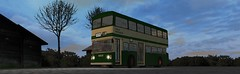 OMSI Fleetline (timothyr673) Tags: omsi nctomsi fleetline daimler leyland nottinghamcitytransport nct green greencream