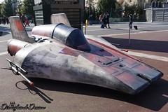 A-Wing Fighter (Disneyland Dream) Tags: awing fighter disney star wars disneyland paris season force saison 2018 walt studios production courtyard