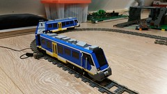 New version of the #caf#lego #ns #train (Aawsum MOCs Lego) Tags: legotrain legotrains lowlug train lego caf wip moc aawsummocslego ns