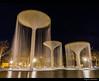 Las tres copas, Murcia (Milo10050) Tags: tres fuente parque jardín murcia españa agua cascada monumento noche sony a5100 1650 long exposure larga exposición