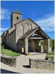 Église de la Nativité-de-la-Vierge de Bissy-sur-Fley (abac077) Tags: bissysurfley bourgogne saôneetloire 71 2017 roman église church églisedelanativitédelavierge