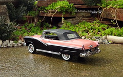 1956 Ford Fairlane Sunliner Convertible (JCarnutz) Tags: 124scale diecast danburymint 1956 ford fairlane sunliner