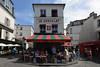 Montmartre Street Scene (Eddie C3) Tags: parisfrance montmartre streetscene vacationphotos