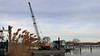 Dredge on a Barge (blazer8696) Tags: 2018 ct connecticut ecw essex t2018 usa unitedstates barge brutus bucyrus dock dredge erie img9577 river