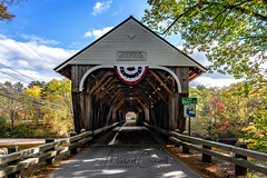 Blair Bridge NH II (Theaterwiz) Tags: nxnw whitemountains blairbridge campton newhampshire coveredbridge pemigewasset